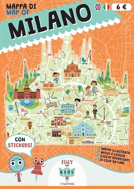 Scoprire le citt italiane con i bambini ci vuole una - Mappa dell inghilterra per i bambini ...