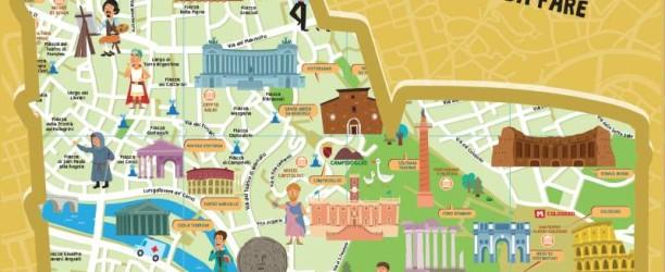 Mappa per Bambini di Roma