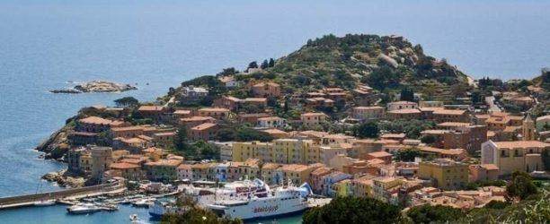 Paesaggio isola del Giglio